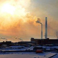 Утреннее дыхание Никелевого завода :: Сергей Докукин