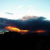 Пожар в небе :: Пётр Баранов