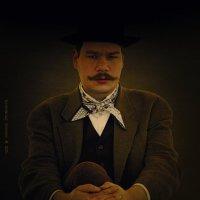 Портрет мужчины с усами :: Алексадр Мякшин