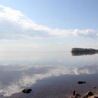 Волжский берег. Отражение. :: Сергей Крюков