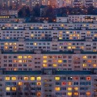 Про окна большого города. :: Игорь Маснык