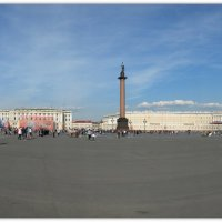 Панорама Дворцовой площади.. :: tipchik