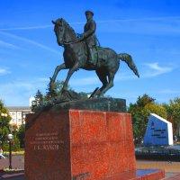Памятник Г.К.Жукову. :: Александр Атаулин