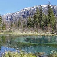 Горное гейзеровое озеро :: И.В.К. ))