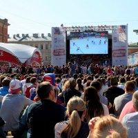 Хоккей в центре Петербурга :: Ирина Фирсова