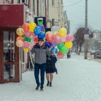 Яркие моменты в пасмурный день :: Evgenija Enot