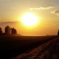 Закат в Подмосковье :: petrovpetrg