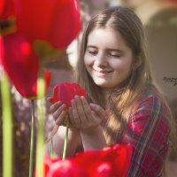 В тюльпанах :: Viktoria Lashuk