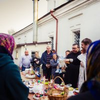 Освящение куличей :: Мария Корнилова