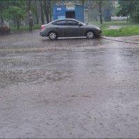 Майский ливень в нашем дворе :: Нина Корешкова