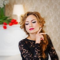 Вика в роли модели :: Светлана Быкова