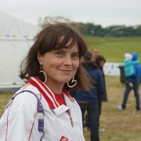 Лена вертолетчица, чемпионка и просто,  красавица. :: Олег Чернов