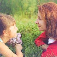 Мама и дочка :: Андрей Ситников