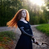 Принцесса Мерида :: Irina Voinkova