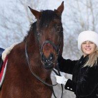 Невеста с лошадью :: Ольга Слободянюк