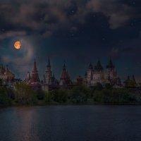 летняя ночь над кремлем. :: юрий макаров