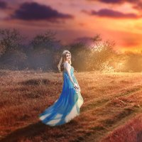 beautiful sunset :: Анна Долгова