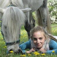 Дети и пони :: Ольга Слободянюк