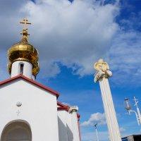 часовня возле села Суворовское :: Наталия Сарана