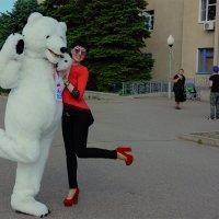 для русских обычное дело медведи в городе :: Наталия Сарана