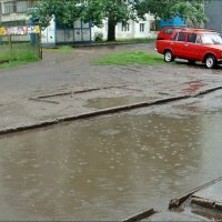 Под шум дождя :: Нина Корешкова