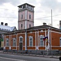 Город Сортавала, пожарное депо :: Юрий Захаров
