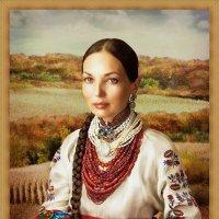 портрет на фоні :: Степан Карачко