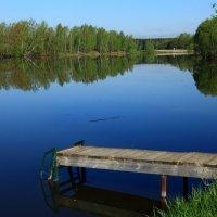 утро на озере :: сергей