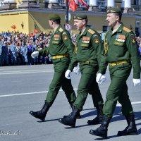 ТРИ НАСТОЯЩИХ ПОЛКОВНИКА. После торжественного марша. 9 мая 2015 г . С-Петербург. :: Виталий Половинко