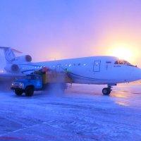 """ Прохладно""  -45* Морозный туман - иглы. :: Alexey YakovLev"