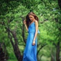 Masha in the Garden | Liliya Nazarova :: Liliya Nazarova