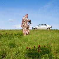 он любит Природу и приглядеть за другом))) :: Petr Popov
