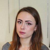 Макияж в теневой технике (моя работа) :: Мария Кожевникова