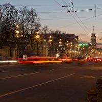 Невский...вечер....апрель :: Оксана Исмагулова