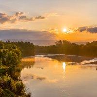 Рассвет над Кубанью. :: Фёдор. Лашков