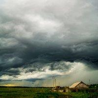 Цимлянские грозовые облака :: Сергей Гибков