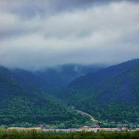 Туман в Жигулевских горах :: Albina