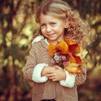 Little Autumn | Liliya Nazarova :: Liliya Nazarova