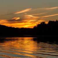 Закаты на Сухой протоке. Перья :: Алексей (АСкет) Степанов