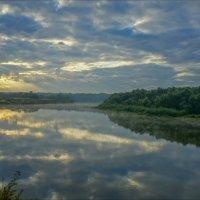 Сентябрьский восход на р.Клязьме :: Igor Andreev