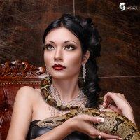 Девушка с питоном :: Ярослава Громова
