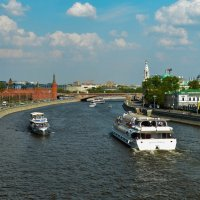 Москва река :: Tatiana Poliakova