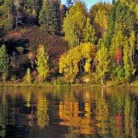 У осенней реки :: Сергей Чиняев