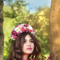 Цветочная красавица :: Оксана Чепурнаева
