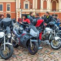 Открытие мотосезона 2016 в Клайпеде :: Леонид Соболев