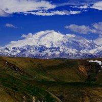 Эльбрус..... по дороге к Эльбрусу , где то высоко в горах !!!! :: Кристина Беляева