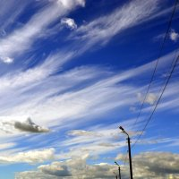 Небо над Комсомольском-на-Амуре :: Мария Коледа