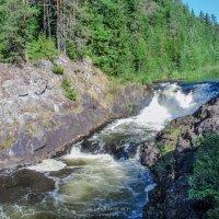 Водопад Кивач. Карелия. :: Alesia Avsievich