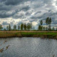 Облака над озером :: Милешкин Владимир Алексеевич