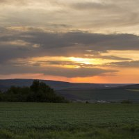 Закат над просторами Молдавии :: Юля Колосова